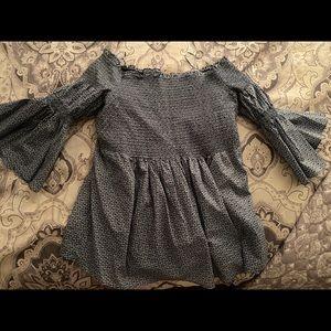 Lauren Conrad paisley maternity top